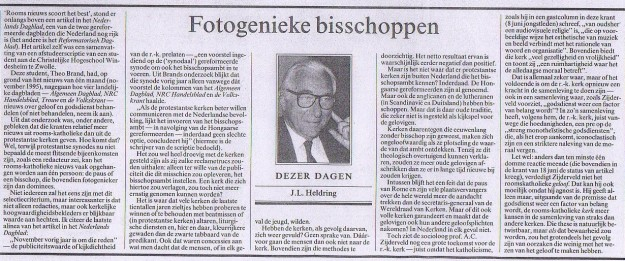 Heldrings column van 16 augustus 1996.